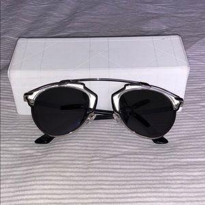 Dior So Real platinum sunglasses